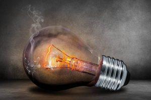incandescent light