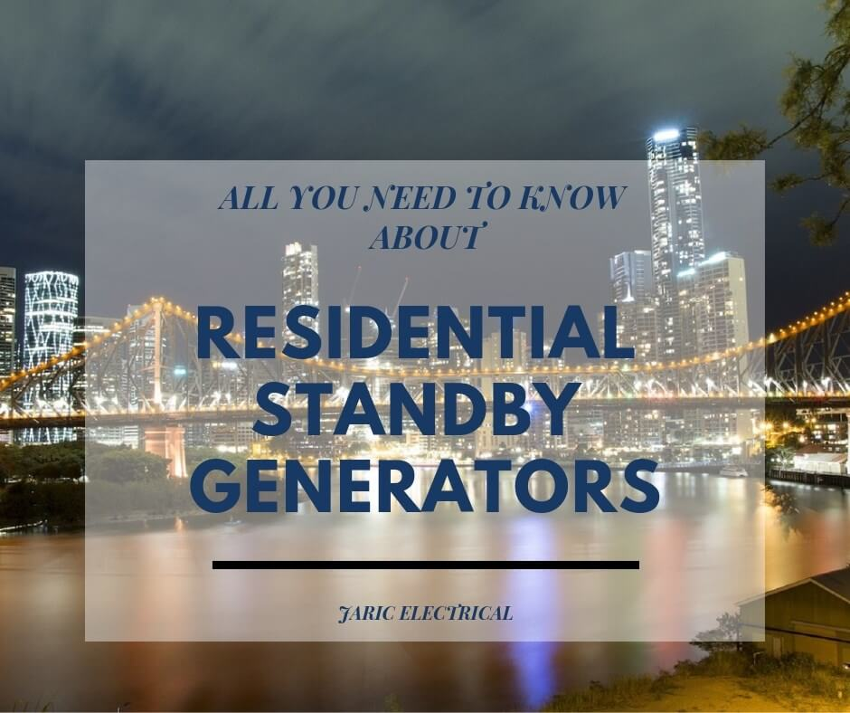 All you need to know about residential standby generators