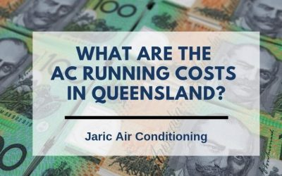 What are the AC running costs in Queensland?