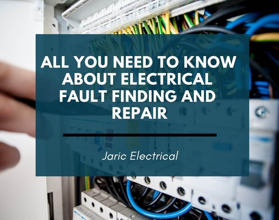 All you need to know about electrical fault finding and repair