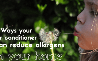 3 Ways your air conditioner can reduce allergens in your home