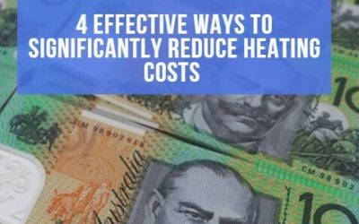 4 effective ways to significantly reduce heating costs
