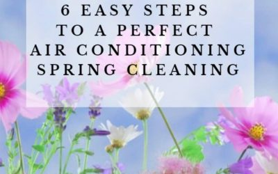 6 easy steps to a perfect air conditioning spring cleaning