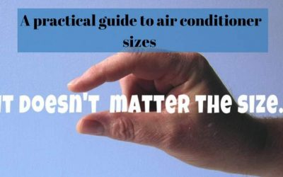 A practical guide to air conditioner sizes