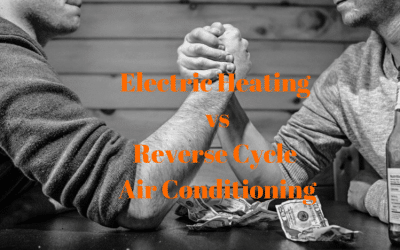 Electric Heaters vs. Reverse Cycle AC – place your bets please!