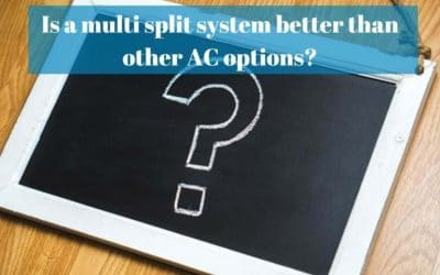 Is a multi split system better than other AC options?