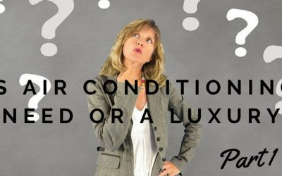 Is air conditioning a need or a luxury?