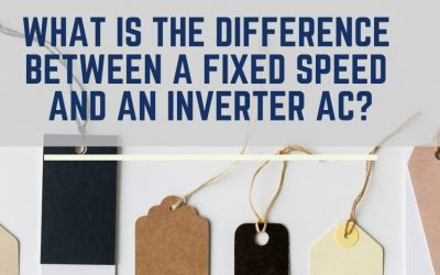 What is the difference between a fixed speed and an inverter AC?