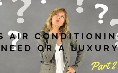 Air conditioning need or luxury?
